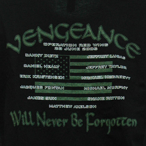 Memorial T-Shirt Operation Red Wing (Vengeance) - UDT-SEAL Store  - 1