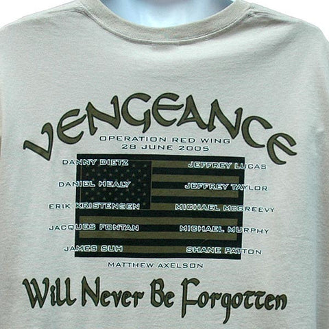 Memorial T Shirt Operation Red Wing Vengeance Udt Seal Store