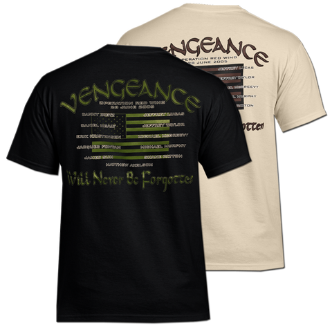 Memorial T-Shirt Operation Red Wing (Vengeance)