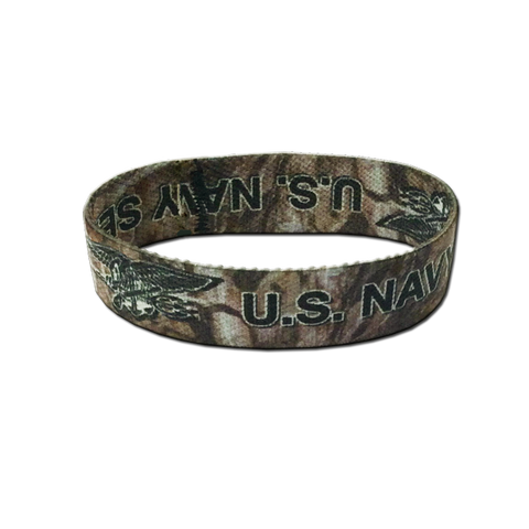 US NAVY SEALS Camo  Wristband - UDT-SEAL Store  - 1