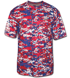 Trident Digital Camo Youth Performance Shirt