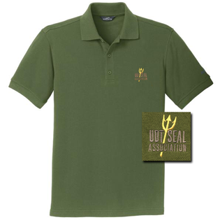 Association Trident Spear Eddie Bauer Evergreen Polo