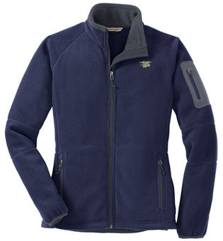 Trident Port Authority Navy Full-Zip Fleece Jacket