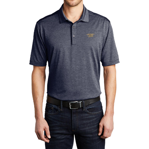 Port Authority Trident Shadow Stripe Polo