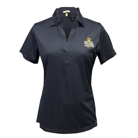 UDT SEAL Association Ladies Performance Jacquard Polo Shirt