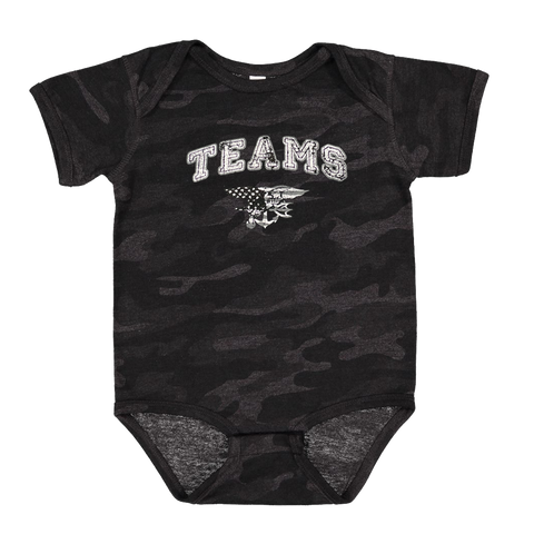 TEAMS Camo Infant Fine Jersey Bodysuit