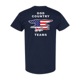 GOD COUNTRY TEAMS Tshirt