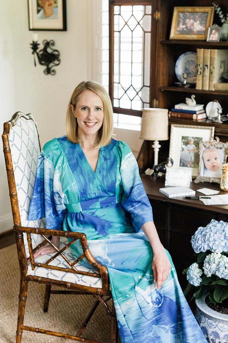 The owner of Dixie Design, Jennifer Hunt, poses for a picture.