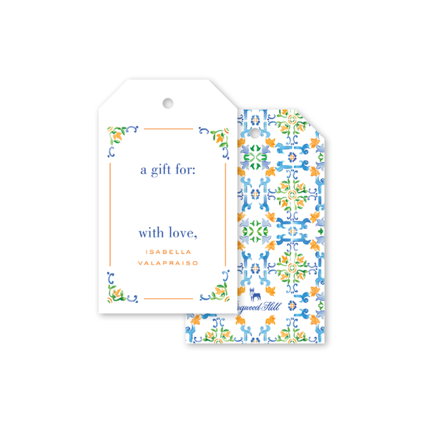 Azulejo Gift Tags