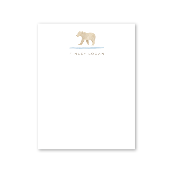 Baby Bear Notecard