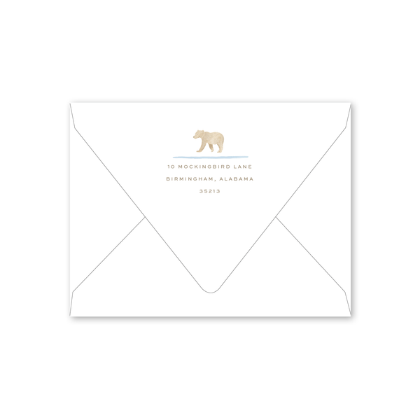Baby Bear Notecard Envelopes