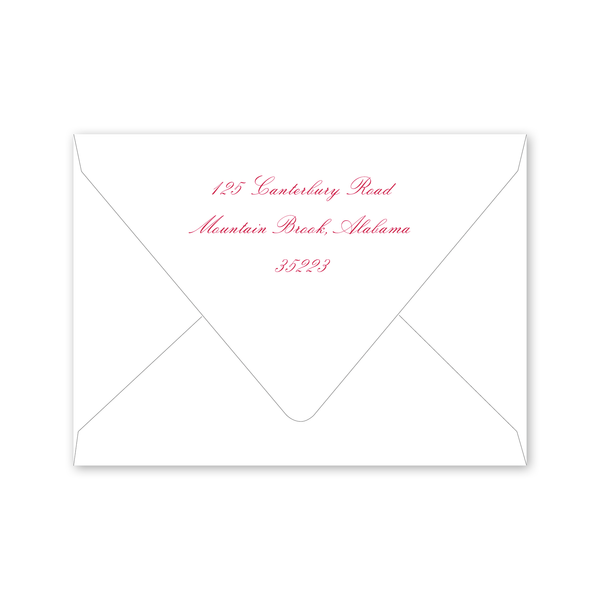 Azalea Baby Shower Envelopes