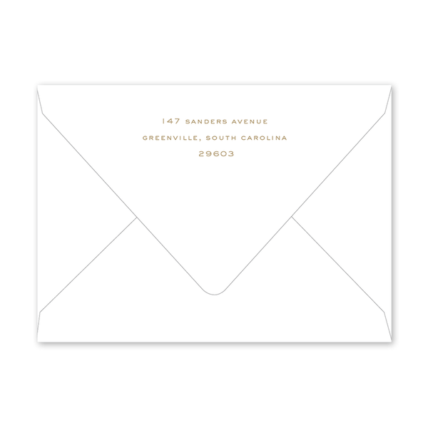 Gold Cross Easter Envelopes