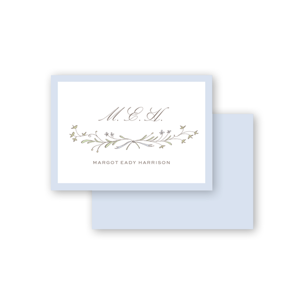 Ivy and Lilac Calling Card
