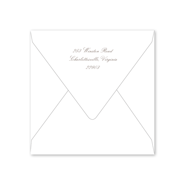 Ivy and Lilac Easter Envelopes