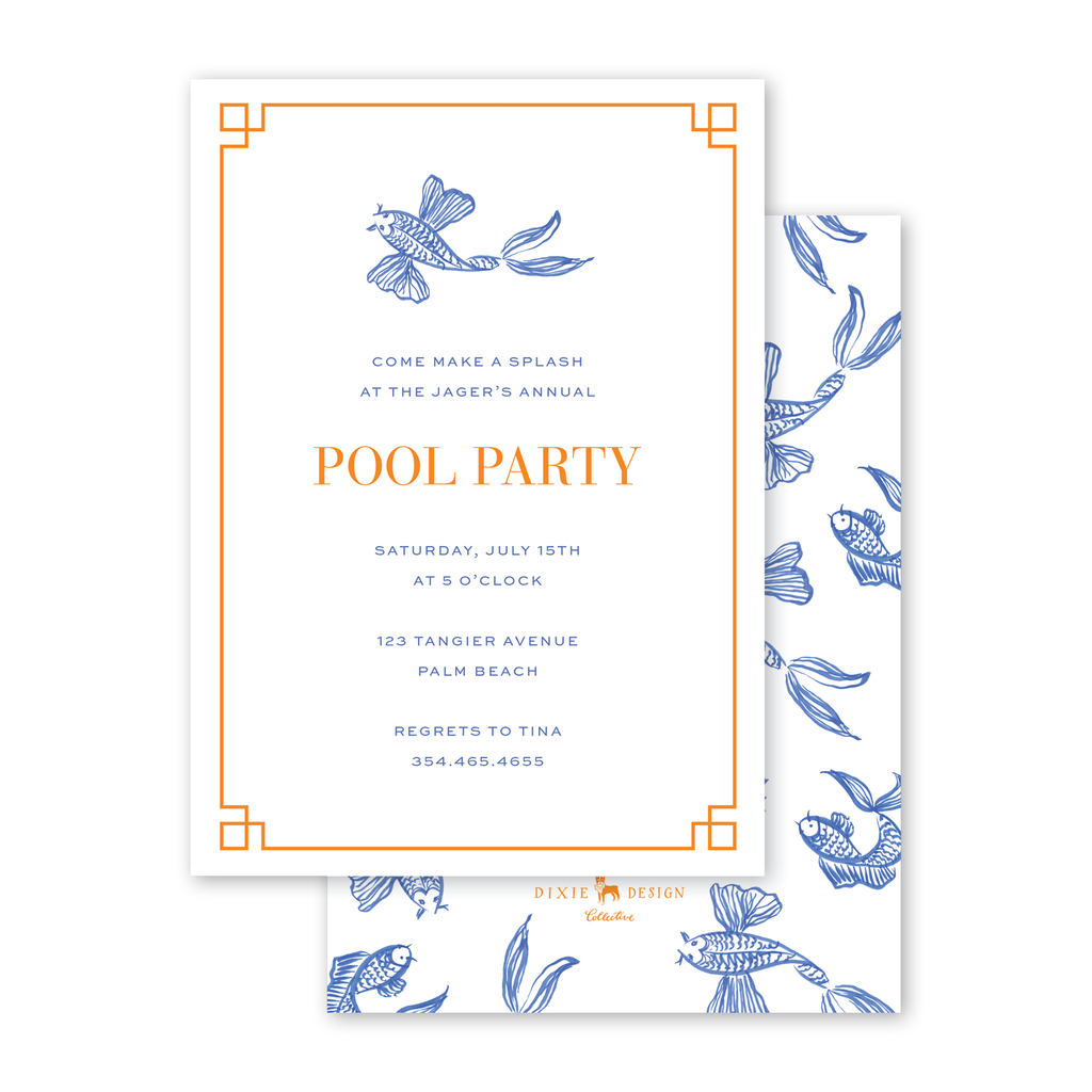 Koi Fish Summer Party