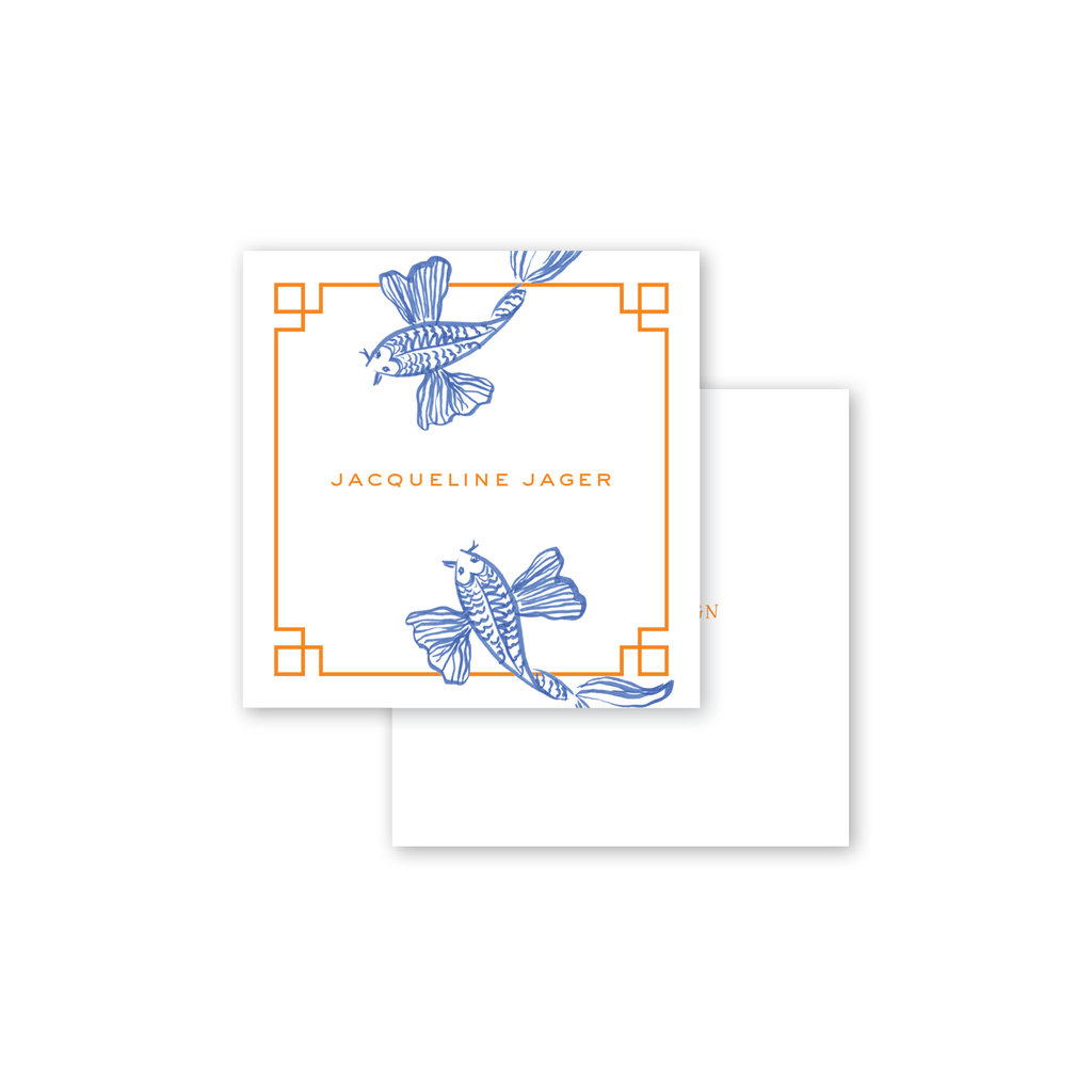 Koi Fish Calling Card