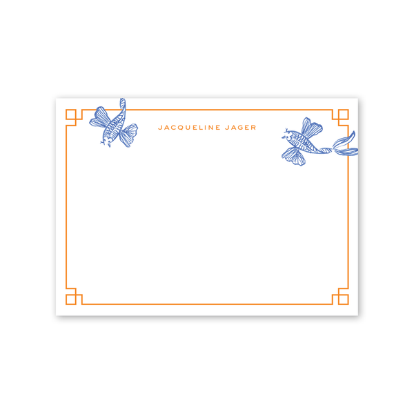 Koi Fish Notecard