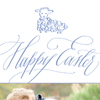Little Lamb Blue Easter