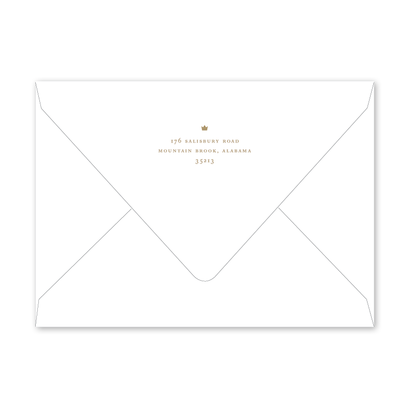 Petite Prince Birth Announcement Envelopes