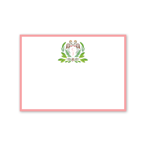 Royal Hawaiian Flamingo Notecard