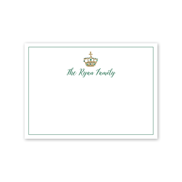 St. Patrick's Day Crest Notecard
