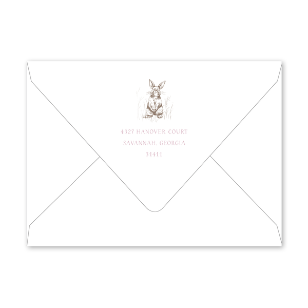 Bambini Bunny Birthday Envelopes