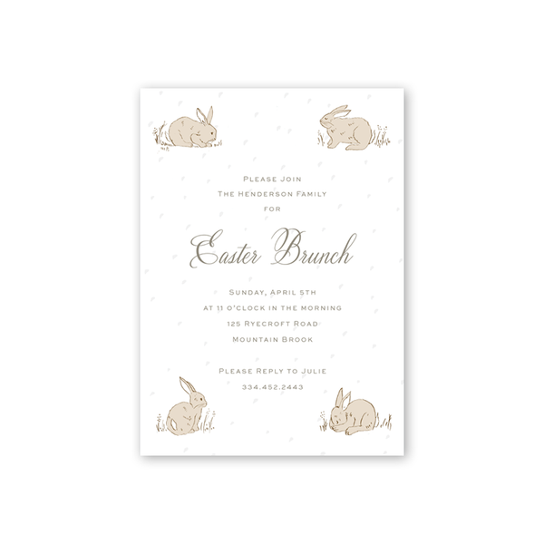 Cottontails Easter Brunch