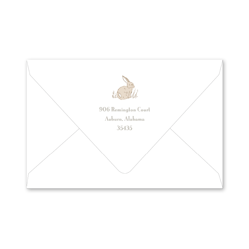 Cottontails Easter Envelopes
