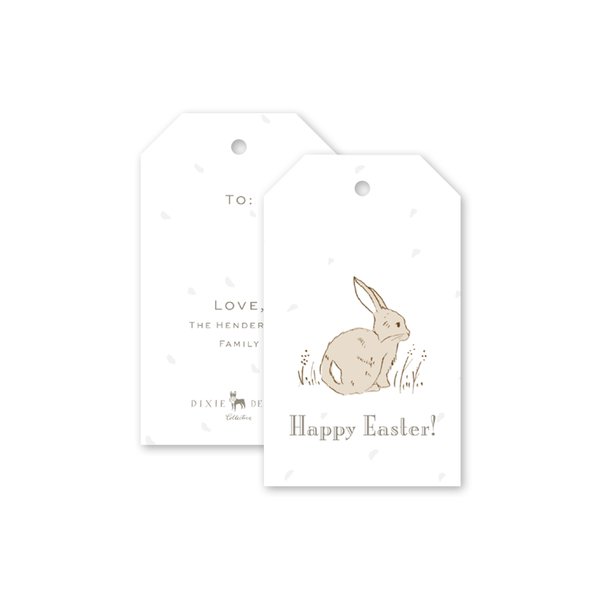 Cottontails Easter Gift Tags