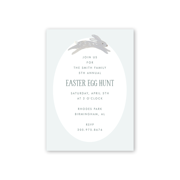 Animal Friends Blue Easter Egg Hunt