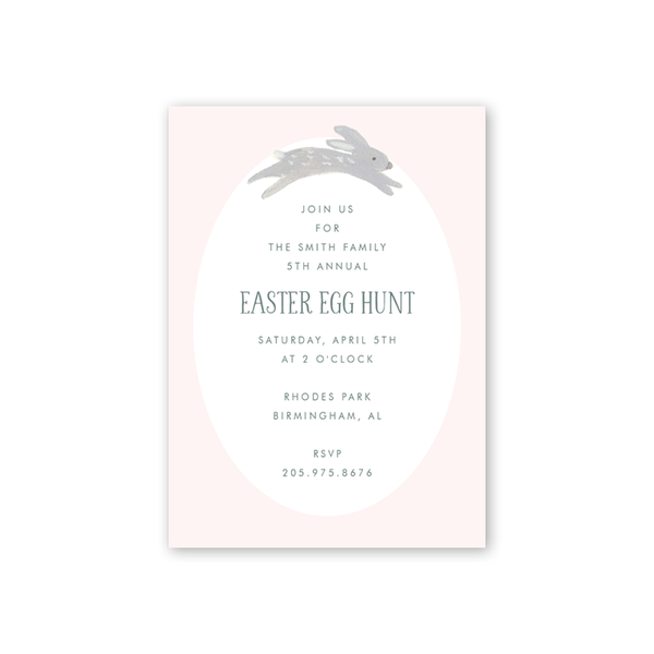 Animal Friends Pink Easter Egg Hunt
