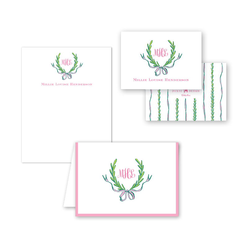 Ribbons and Garland Pink Gift Set