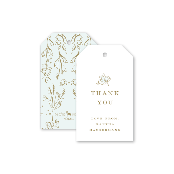 Camellias Mist II Gift Tag