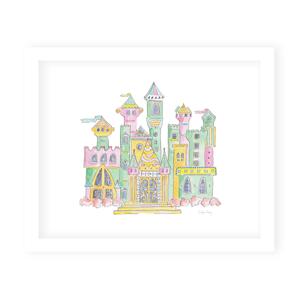 Fairytale Castle Art Print