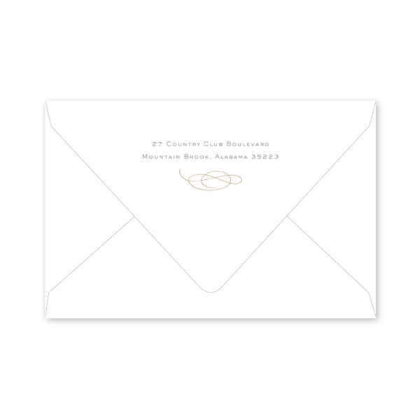 25th Anniversary Party Envelopes