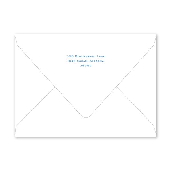 Blue Dots Hanukkah Photo Mount Envelopes