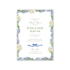 Blue Hydrangea Bridal Shower