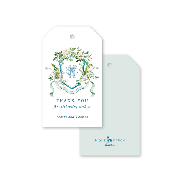 Winchester Crest Gift Tags