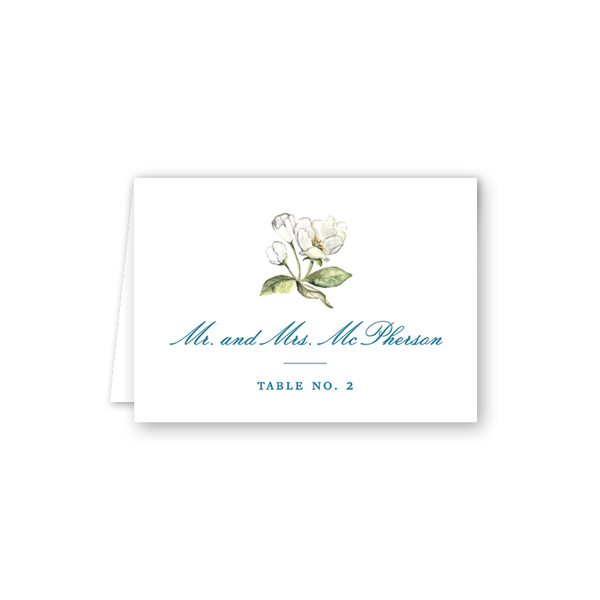 Winchester Floral Escort Card