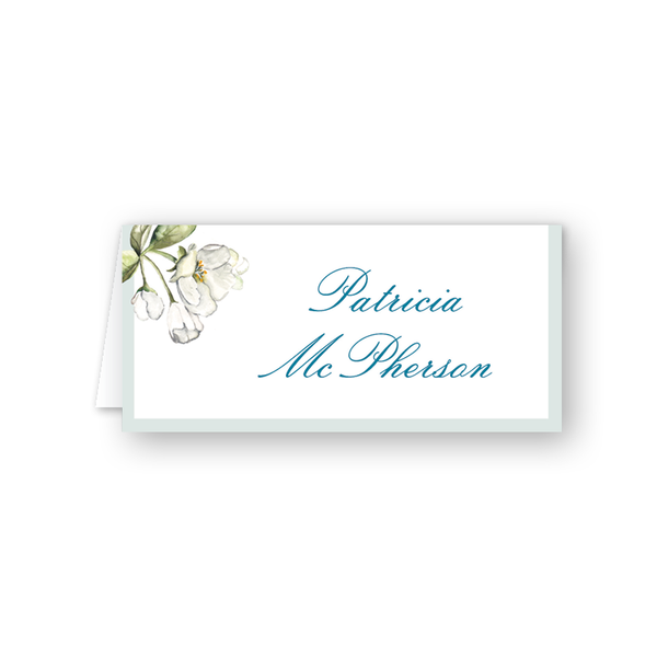 Winchester Floral Place Card