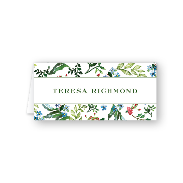 Jardin Border Place Card