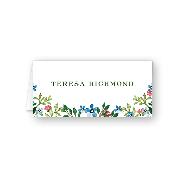 Jardin Floral Place Card