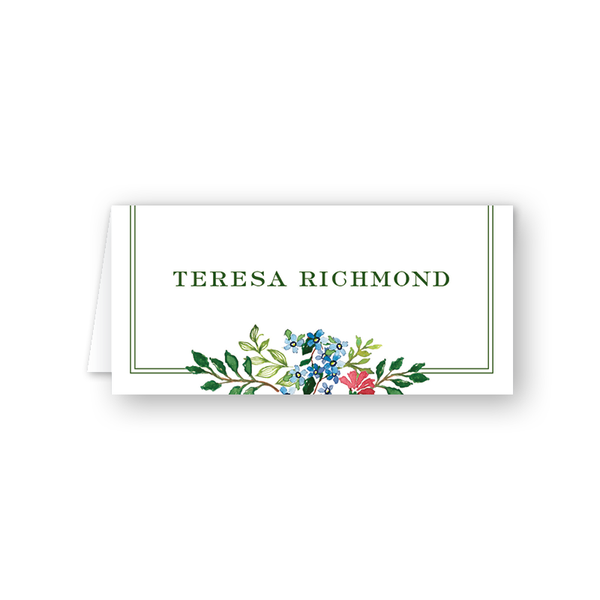 Jardin Place Card