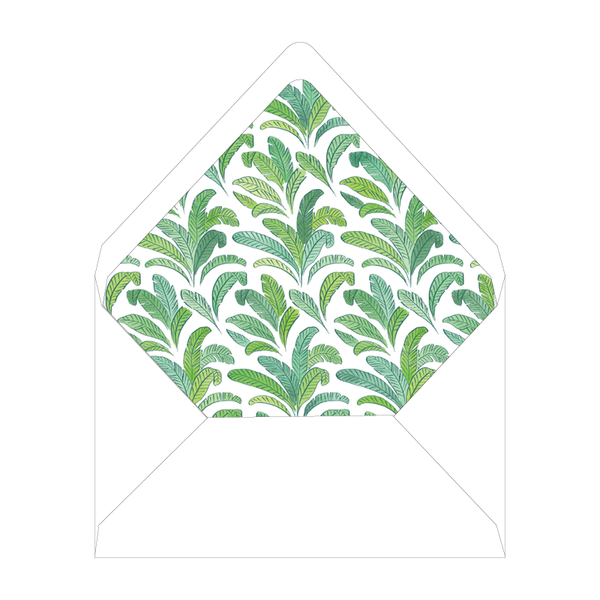 Beverly Hills Crest Invitation Liner