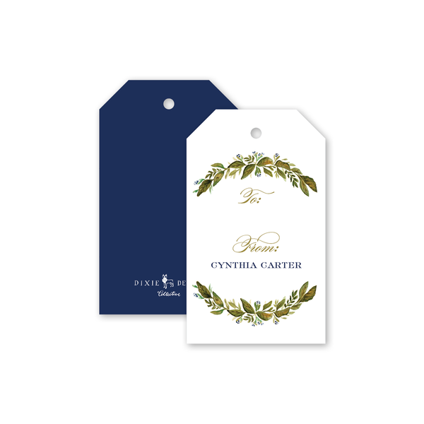 Botanic Wreath Gift Tags