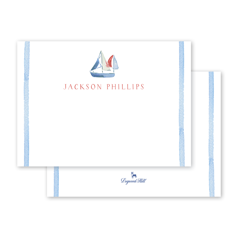 Sailing Notecard