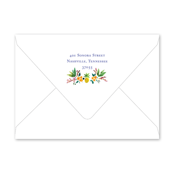 Holiday Crest Envelopes