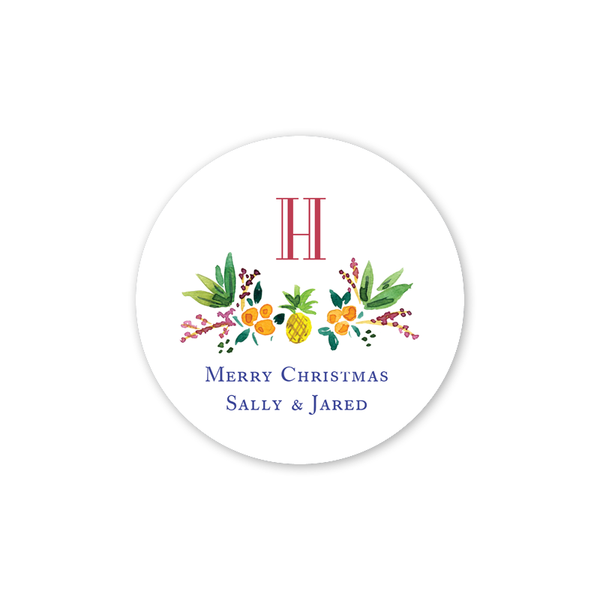 Holiday Crest Sticker