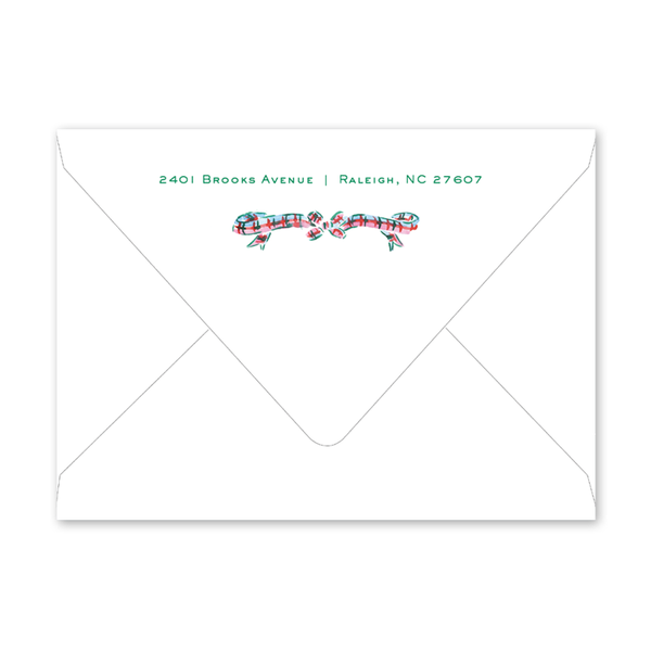 Holiday Cheer Crest Envelopes